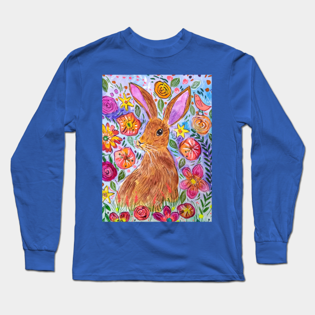 Hare among Flowers