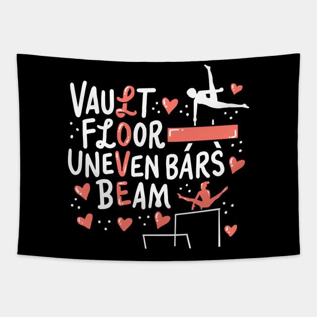 Vault Floor Unevenbars Beam Love