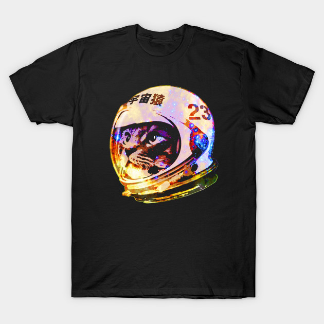 Astronaut Space Cat (deep galaxy version)
