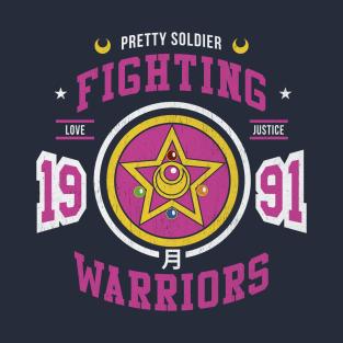 Fighting Senshi t-shirts