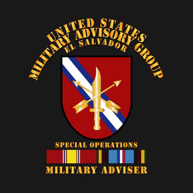 US MILGRP  w Svc - El Salvador