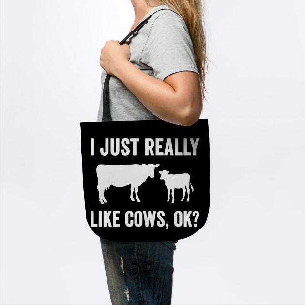 I just really like cows ok