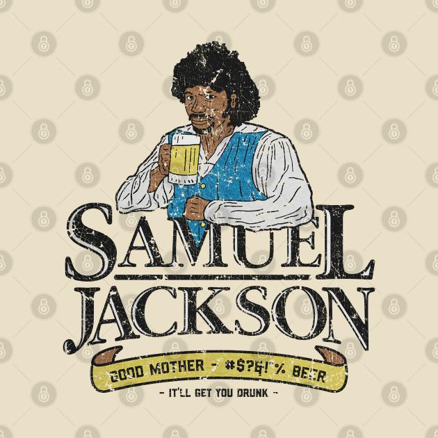 SAMUEL JACKSON BEER RETRO