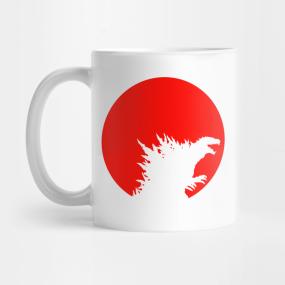 Godzilla mugs
