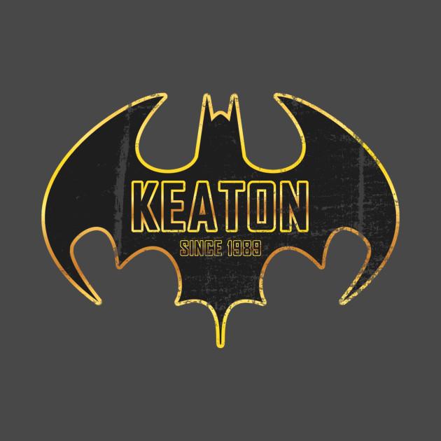Keaton is Batman worn look