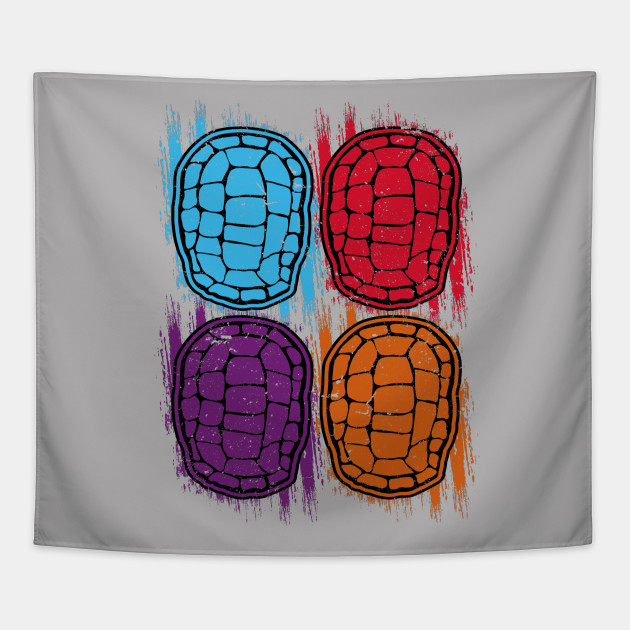Turtle Shell Pattern Tapestry