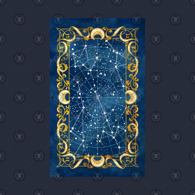 Fantasy Star Chart - Star Chart - T-Shirt | TeePublic
