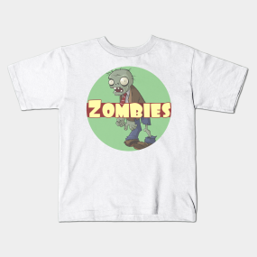 Zombies everywhere kids-t-shirt