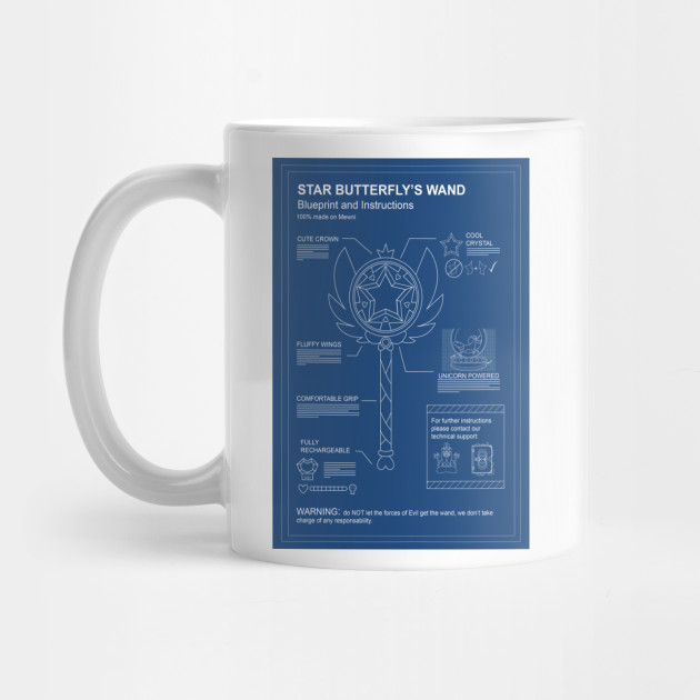 Wand blueprint star vs the forces of evil mug teepublic star vs the forces of evil mug malvernweather Gallery