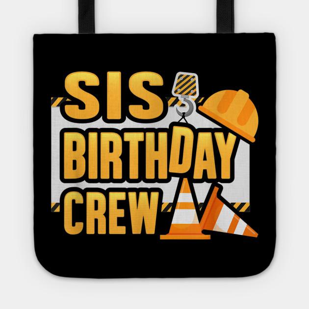 Construction Crew Birthday Matching T-shirts Party Family Kid shirt Digger Dump