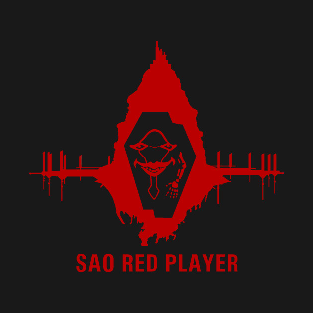 Sword Art Online Red Player Guild Sword Art Online T Shirt