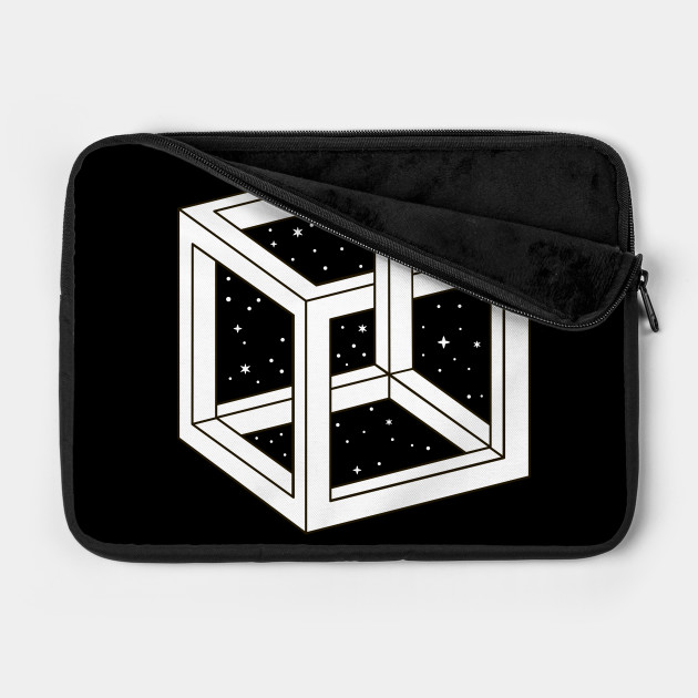 White Cube with Stars