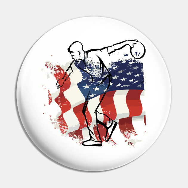 American Bowler For Bowling Gifts