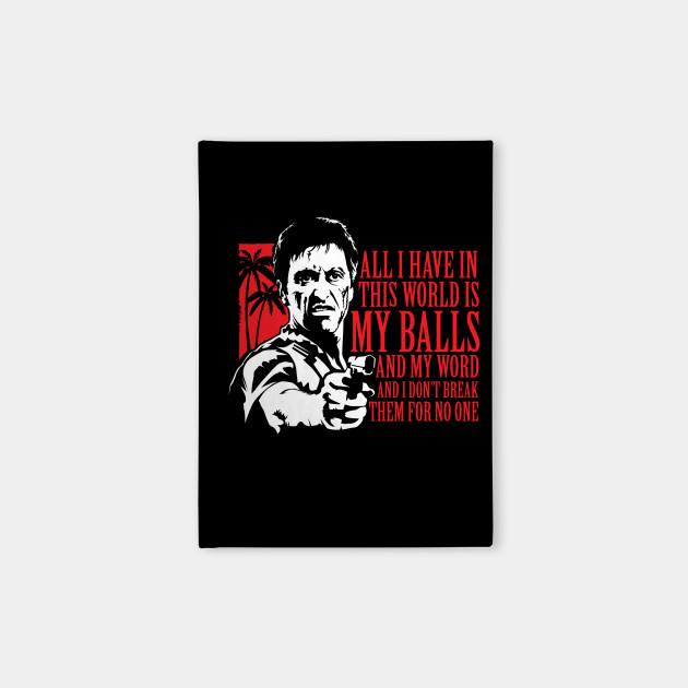 b926dd922e0 Tony Montana (Scarface) - Moseisly - Notebook