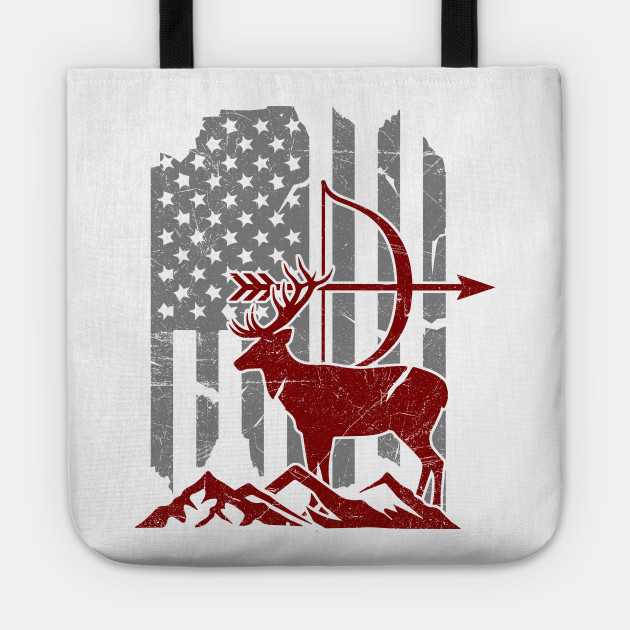 'Bow Hunting Deer Flag' Awesome Hunting Gift