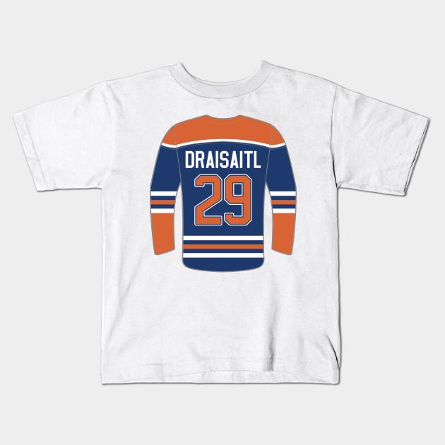 Edmonton Oilers - Leon Draisaitl - Edmonton Oilers - Kids T-Shirt ... bfb8dc22c