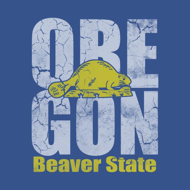 Vintage Oregon Beaver State