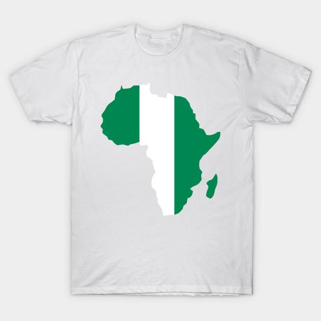 Nigerian pride Nigeria flag Africa map - I Love Nigeria Flag Africa ...