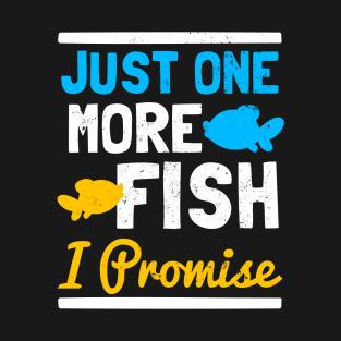023f2b7c Main Tag One More Fish Gift T-Shirt
