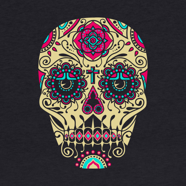 Day of the Dead Deco Skull 3