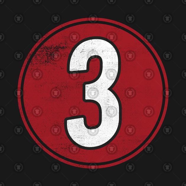 Number Three 3