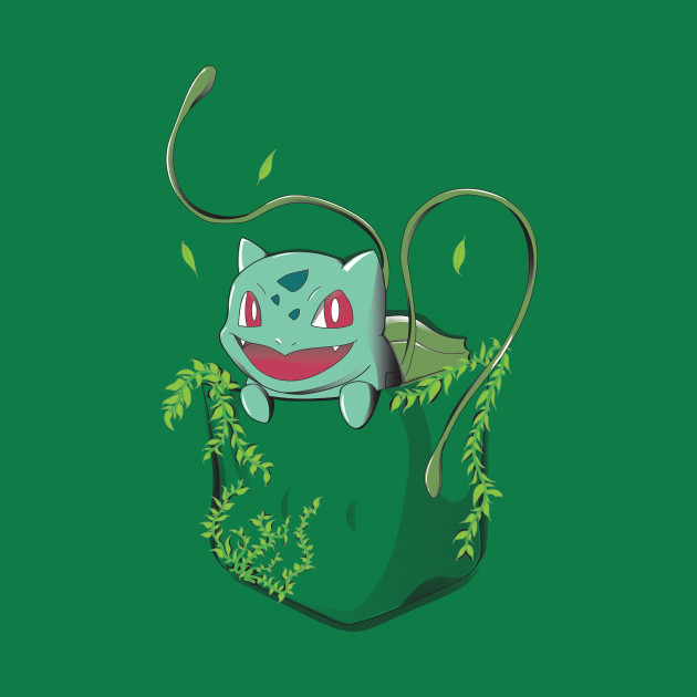 Grass Type Pocket - Bulbasaur