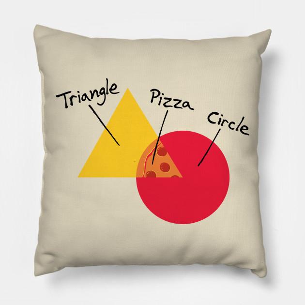 College Venn Diagram Red Pillow Teepublic