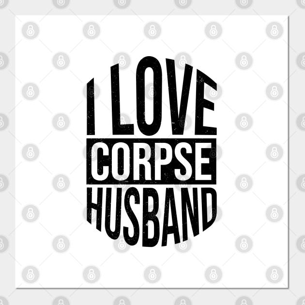 Corpse Husband Print