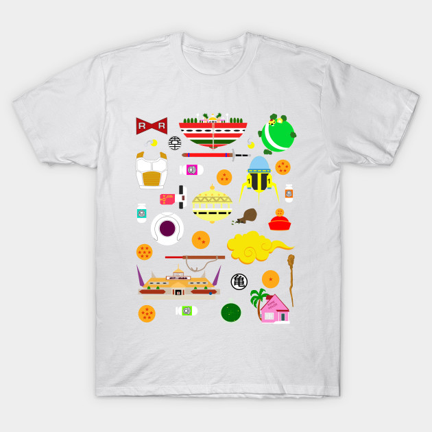 Dragon Ball Icons T-Shirt-TOZ