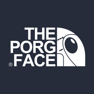 The Porg Face t-shirts