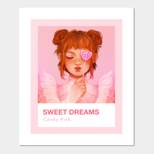 Pink Aesthetic Posters And Art Prints Teepublic