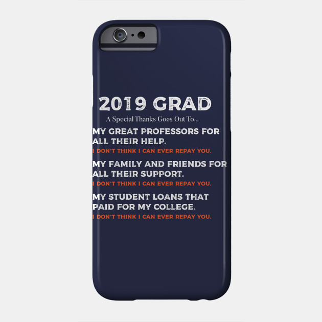 2019 College Grad Student Loan Funny Gift Ideas