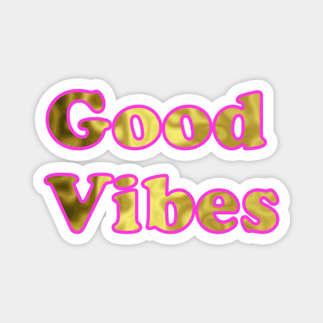 Good Vibes Pink Gold