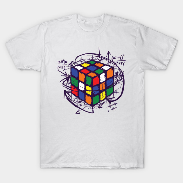 Rubiks Cube Instructions T Shirt Rubiks Cube T Shirt Teepublic