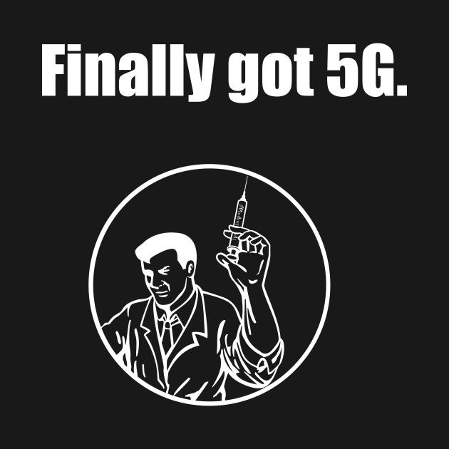 Finally got 5g