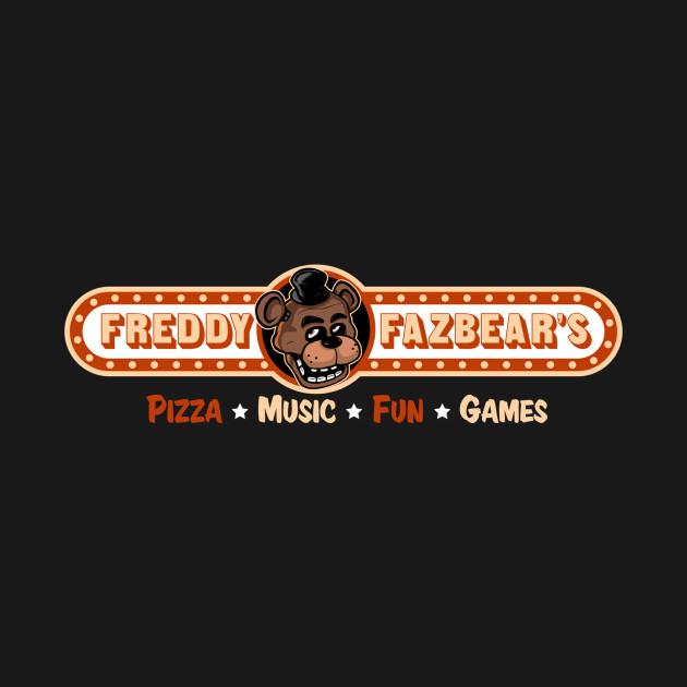 Freddy Fazbear Pizza Logo Five Nights T-Shirt