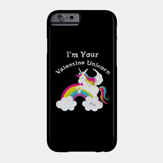 I'm Your Valentine Unicorn product for Girls Phone Case