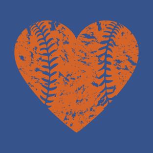 I <3 Baseball (Orange) t-shirts