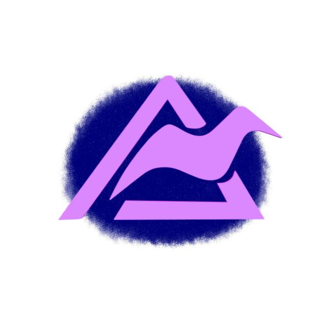 Aurora Mountain Symbol