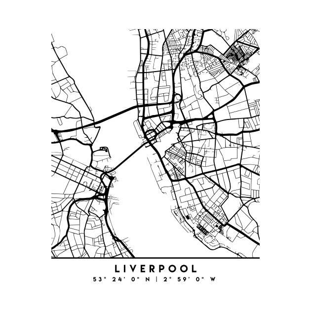 LIVERPOOL ENGLAND BLACK CITY STREET MAP ART on marylebone map, liverpool england central map, borough map, paddington station map, russell square map, bangkok airport map, leadenhall market map, covent garden map, grosvenor square map, camden town map, east india map, west end map, tower hill map,