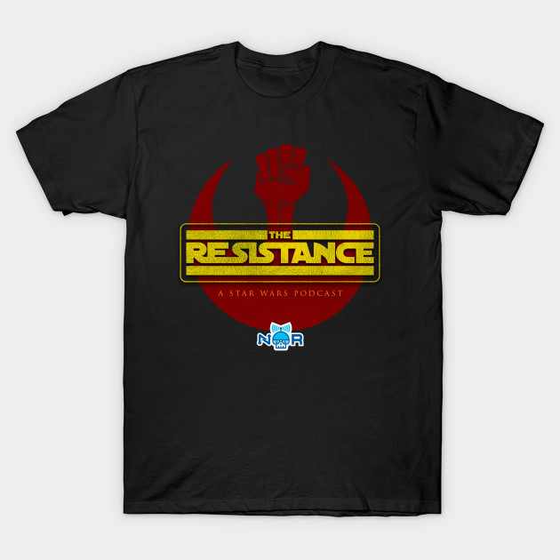 The Resistance Podcast Tee
