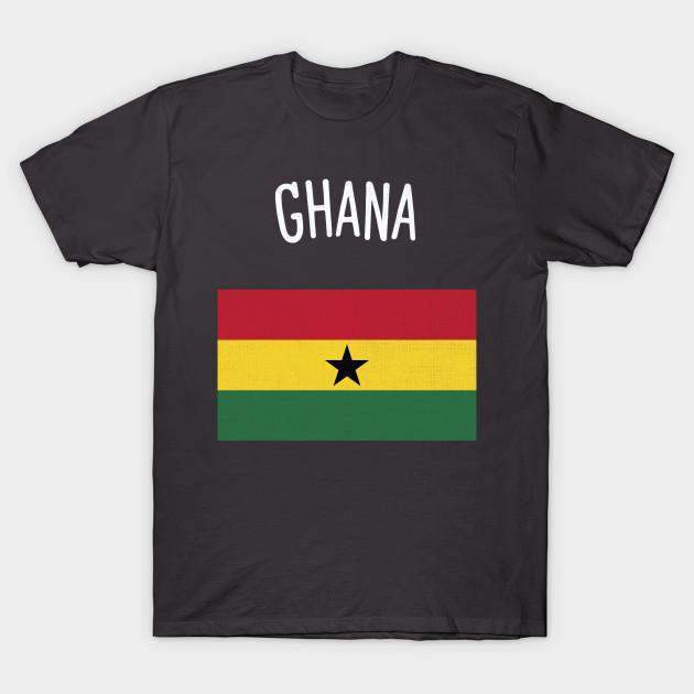 Greatest Ghana Flag - Ghana - T-Shirt | TeePublic ZF61