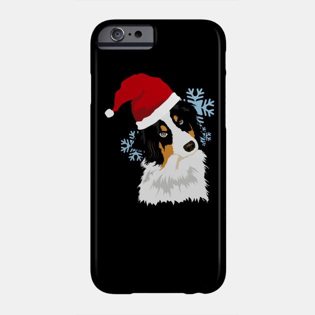 christmas,xmas,santa,merry chrismas,winter,merry christmas dog Phone Case