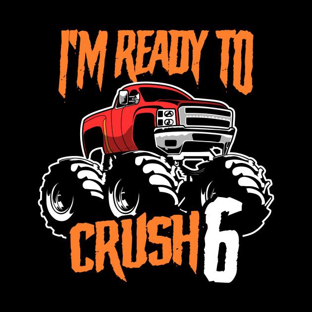 Monster Trucks 6th Birthday Gift | Big Trucks