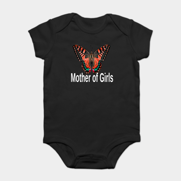 Mother Of Girls Butterfly Mothers Day Gift