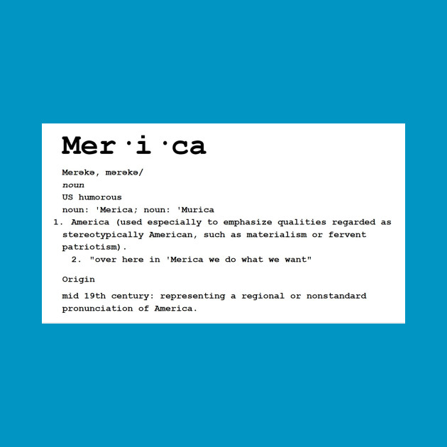 definition of merica merica definition t shirt teepublic