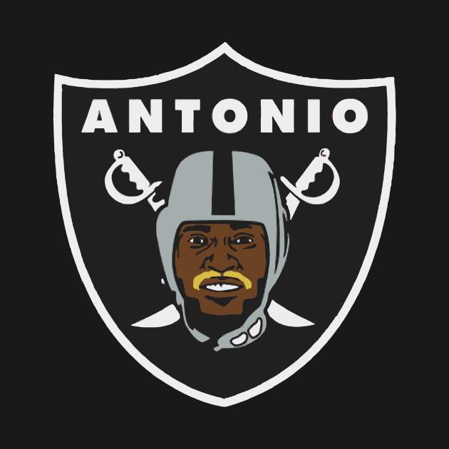 Antonio Brown Mustache >> Cover Your Body With Amazing Antonio Brown Raiders Logo Parody T Shirt Blonde Mustache Ab 84 Oakland Fans Silver Amp Black California Football 2019