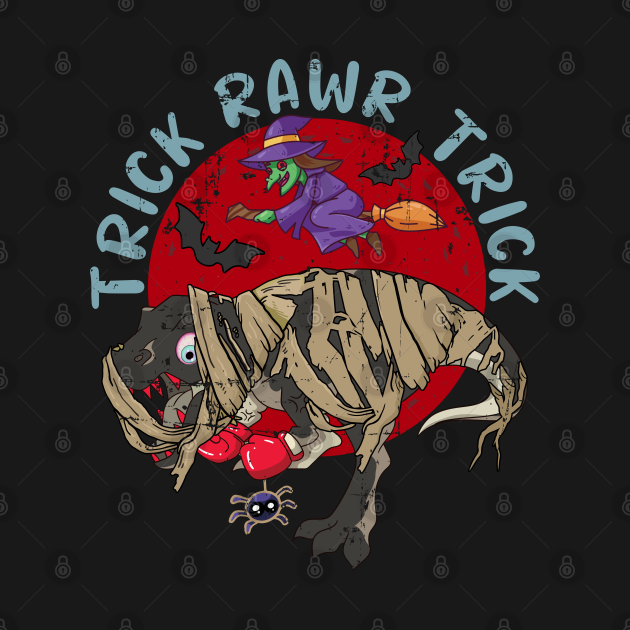 Trick Rawr Treat Dinosaur Halloween