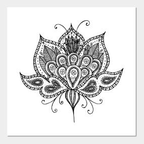 Lotus Flower Posters And Art Prints Teepublic