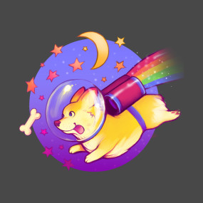 See You Space Corgi